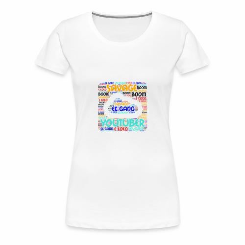 WORD MIX - Women's Premium T-Shirt
