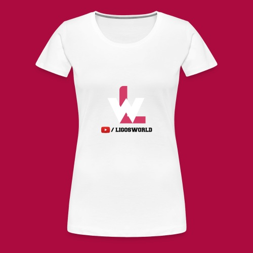 Logo on Grey Sport - Women's Premium T-Shirt
