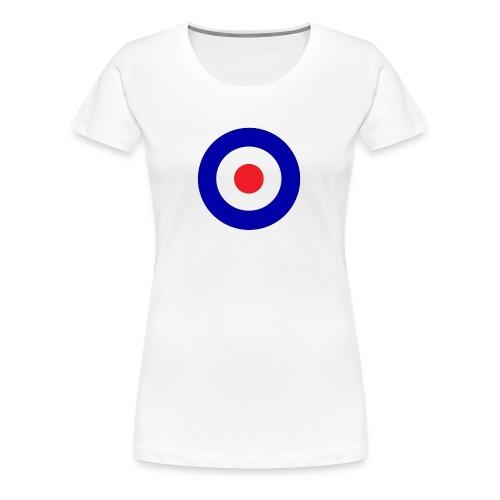 Bullseye hollow tankgirl - Women's Premium T-Shirt
