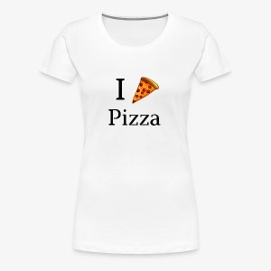 I Heart Pizza - Women's Premium T-Shirt