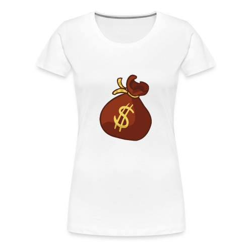 Money Bag - Women's Premium T-Shirt