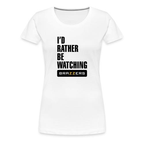 IRBW Brazzers logo - Women's Premium T-Shirt