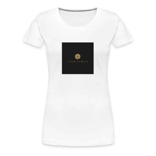The rich boys embroiderie - Women's Premium T-Shirt