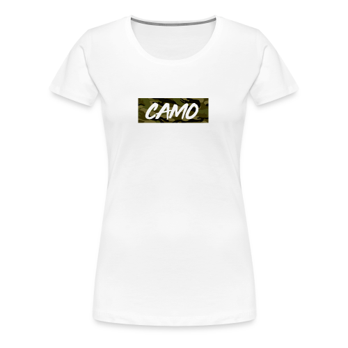 Camo Collection - Women's Premium T-Shirt