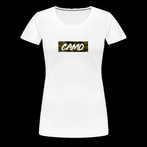 Camo Collection - Women's Premium T-Shirt