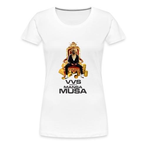 vvs presents mansa musa - Women's Premium T-Shirt