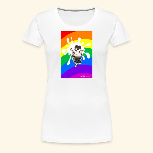MilkSplay Original - Women's Premium T-Shirt
