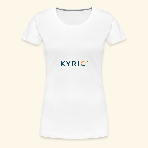 Kyrio cmyk main - Women's Premium T-Shirt