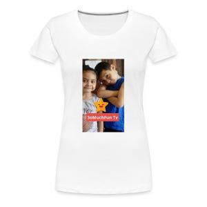 SoMuchFun tv be a star - Women's Premium T-Shirt