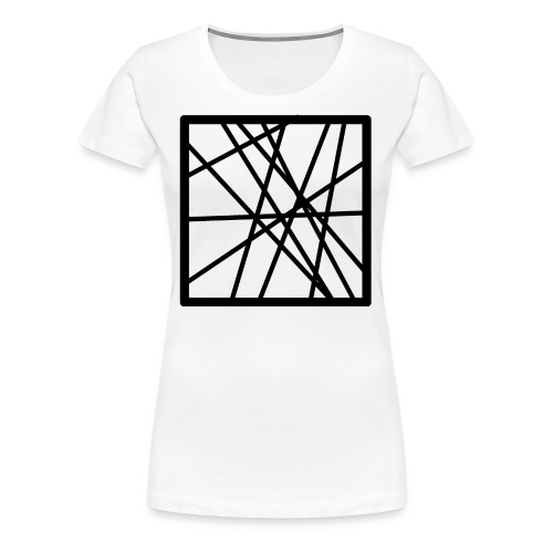 Square Line - Women's Premium T-Shirt