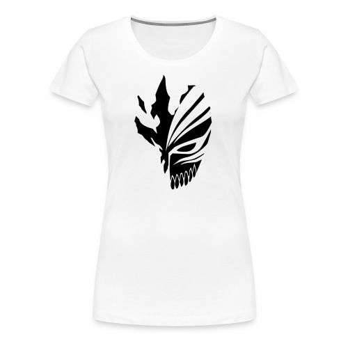 Hollow Mask Black - Women's Premium T-Shirt