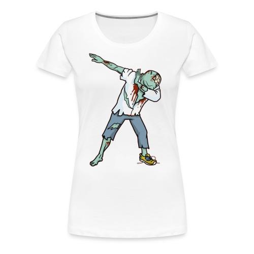 Halloween T shirt Funny Zombie Dab Hip Hop Pre - Women's Premium T-Shirt