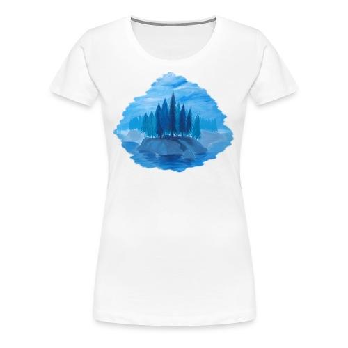 Lonely island - Women's Premium T-Shirt