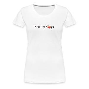 Healthy Boys Logo - Women's Premium T-Shirt