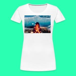 Girl Wave - Women's Premium T-Shirt