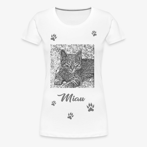 Miau - Women's Premium T-Shirt