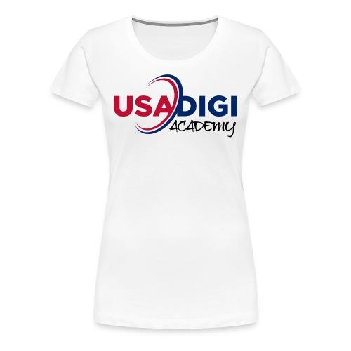 USA DIGI ACADEMY - Women's Premium T-Shirt