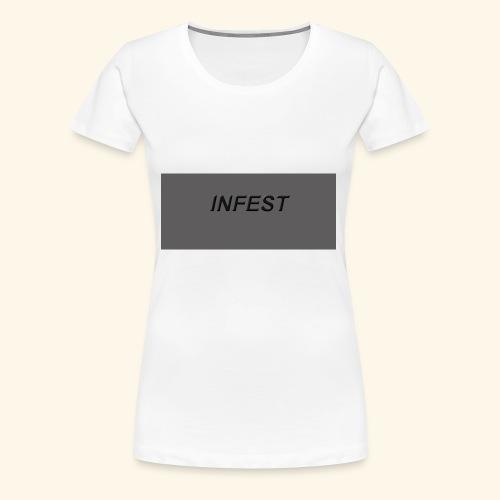 INFEST CLOTHING DESIGN - Women's Premium T-Shirt