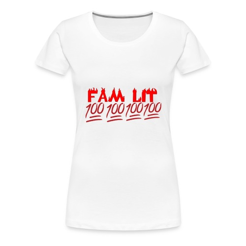 FAM LIT MERCH - Women's Premium T-Shirt