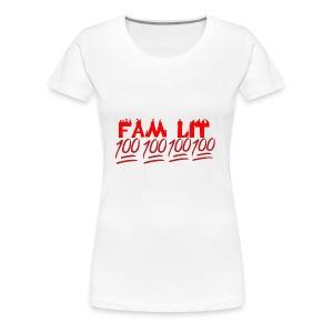 FAM LIT MERCH - Women's Premium T-Shirt
