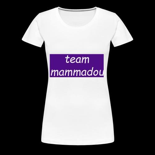 team mammadou! - Women's Premium T-Shirt
