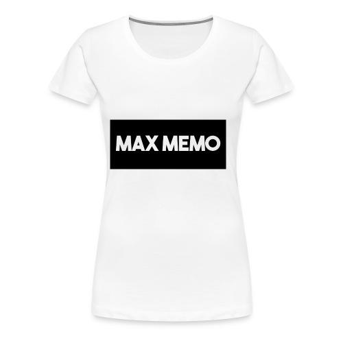 MaxMemo - Women's Premium T-Shirt