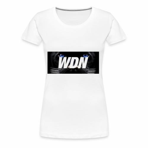 WDN black - Women's Premium T-Shirt