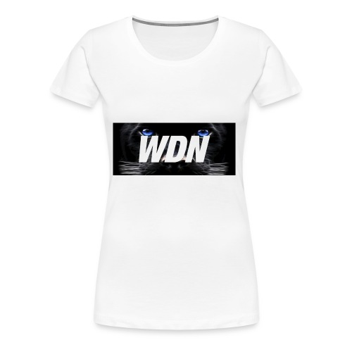 WDN black - Women's Premium T-Shirt