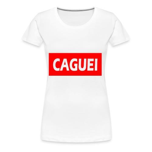 CAGUEI VERMELHO - Women's Premium T-Shirt
