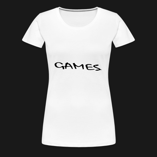 GAMES - Women's Premium T-Shirt