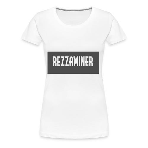rezzaminer tshirts - Women's Premium T-Shirt