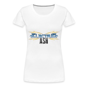 Electric Ash Logo - Main - Transparent Background - Women's Premium T-Shirt