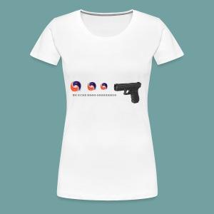 The thing goes skraaa - mans not hot meme tide pod - Women's Premium T-Shirt