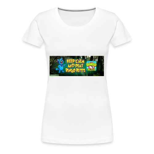 KDMYBANNER1 - Women's Premium T-Shirt