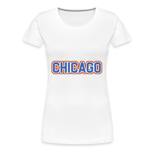 Chicago, Illinois - The Cubs - Women's Premium T-Shirt