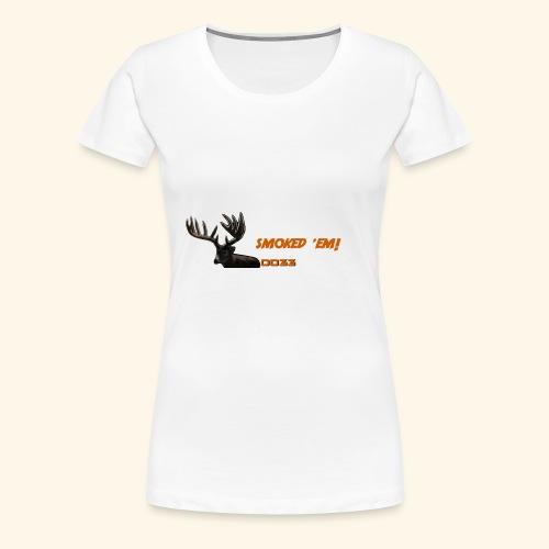 smoked 'em orange - Women's Premium T-Shirt
