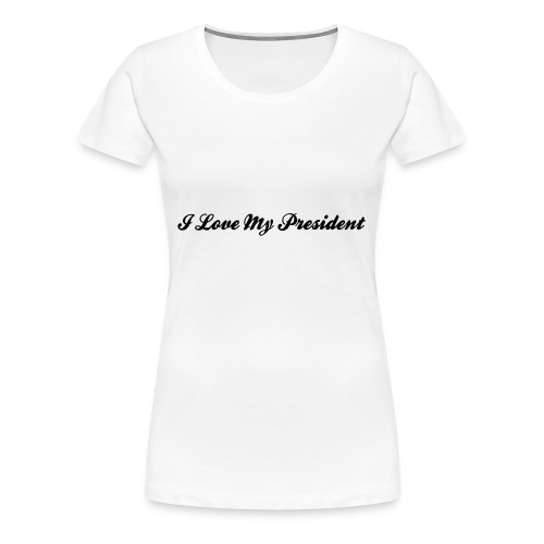 transparent text effect - Women's Premium T-Shirt