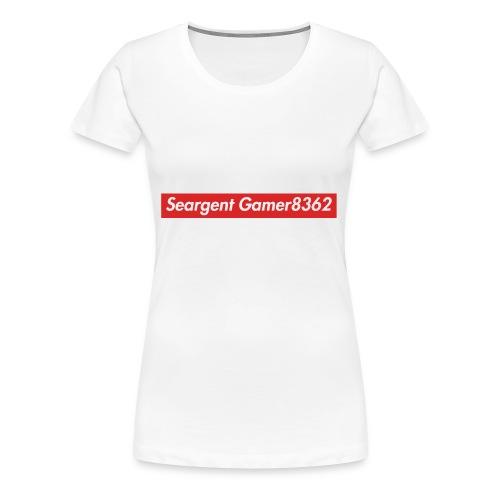 Seargent Gamer8362 (Supreme) - Women's Premium T-Shirt