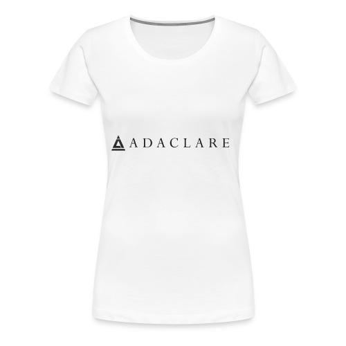 New Adaclare Logo - Women's Premium T-Shirt
