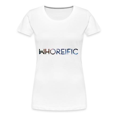 WHOREific galaxy - Women's Premium T-Shirt