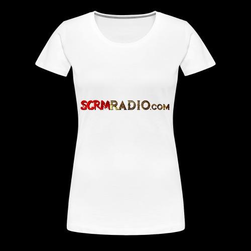 SCRM Radio Logo - Women's Premium T-Shirt