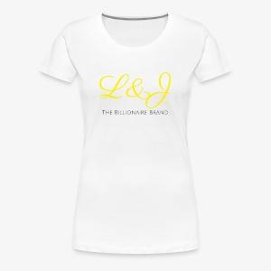 LNJ: The Billionaire Brand Shirt - Women's Premium T-Shirt
