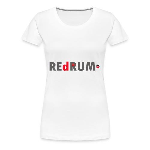 redrum t shirt logo 1 - Women's Premium T-Shirt
