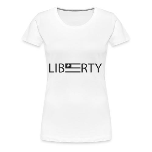 Liberty Wordmark - Women's Premium T-Shirt