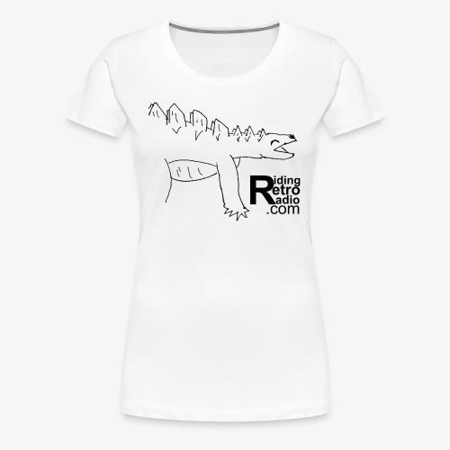 Sir Stetson the Stegosaurs - Women's Premium T-Shirt