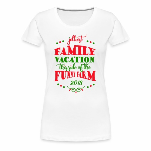 2018 Family Vacation Matching Clothes - Women's Premium T-Shirt