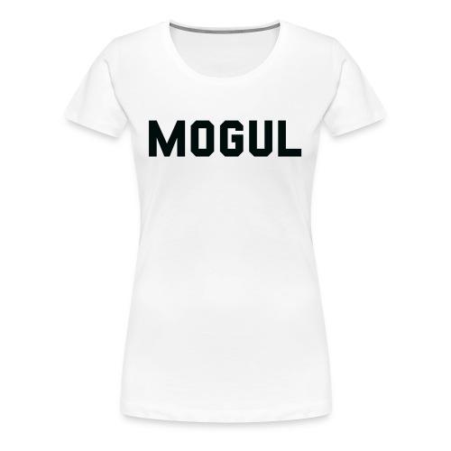 Mogul (Black) - Women's Premium T-Shirt