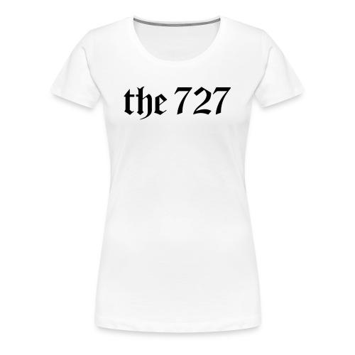 The 727 in Black Lettering - Women's Premium T-Shirt