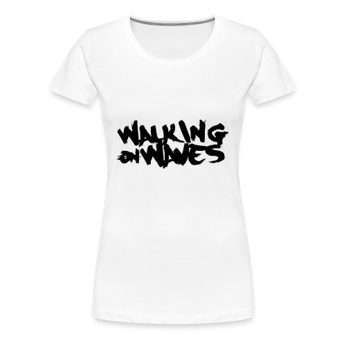 W.O.W black name - Women's Premium T-Shirt