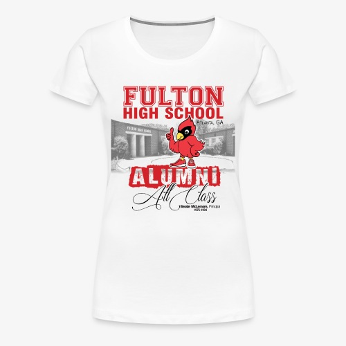 FHS All Class Alumni_WHITE Tee - Women's Premium T-Shirt